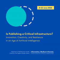 2022 Conference on Publishing Studies Announced