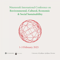 2023 Conference on Environmental, Cultural, Economic & Social Sustainability Announced